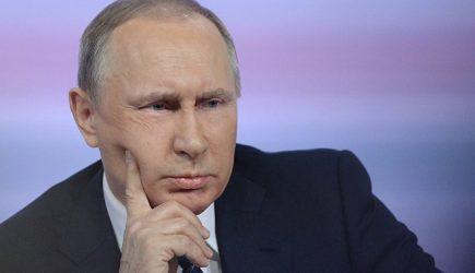 Украинский телеканал назвал Путина «президентом Украины»
