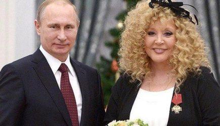 Пугачёва о Путине