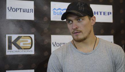 Александр Усик. Фото: XSPORT.ua